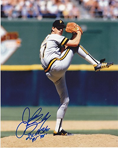 John Smiley Signed Picture - 2 X ALL STAR 91 95 8x10 - Autographed MLB Photos