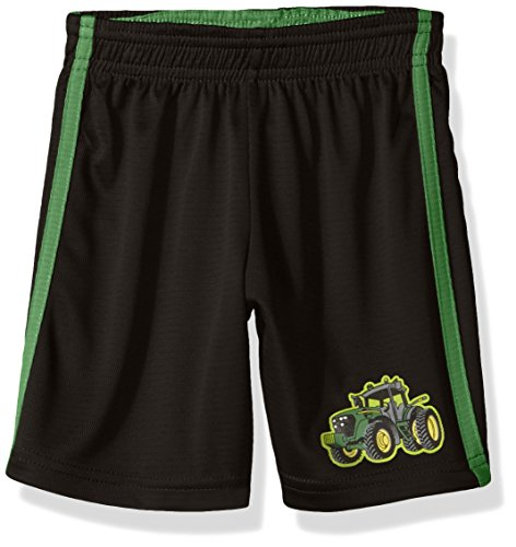 John Deere Baby Toddler Boys' Short, Black/Green, 3T