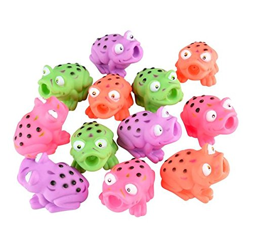 Squirt Toys Assorted Frogs, 2.5