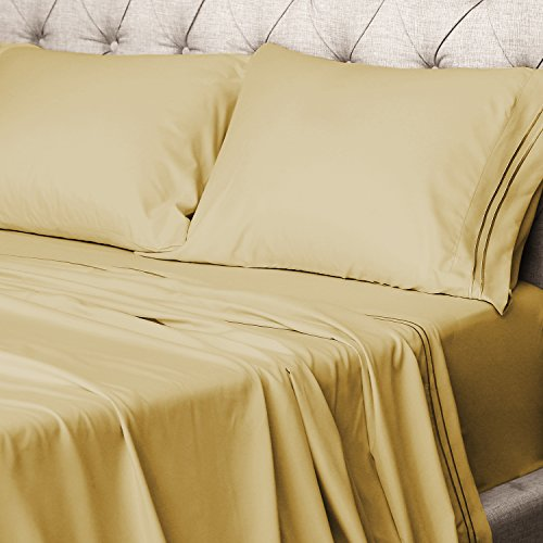 Luxor Linens Hotel Quality Giovanni Egyptian Comfort 4-Piece