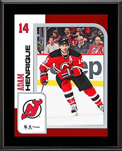 """Adam Henrique New Jersey Devils 10.5"""" x 13"""" Sublimated Player Plaque - Fanatics Authentic Certified - NHL Player Plaques and Collages"""