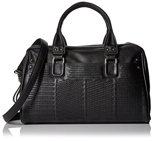French Connection Women's Dakota Satchel Black