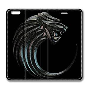 Brain114 5s, iPhone 5s Case, iPhone 5s Case, Wildcat 2 PU Leather Flip Protective Skin Case for Apple iPhone 5s