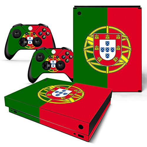 (CSBC Skins Xbox One X Design Foils Faceplate Set - Portugal Design)