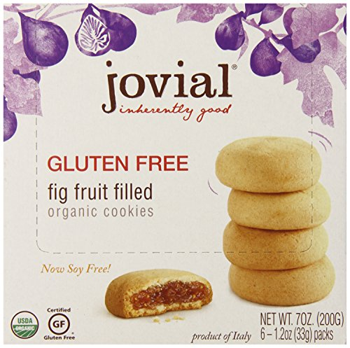 Jovial Foods Organic Cookies, Fig Fruit Filled, 7 Ounce