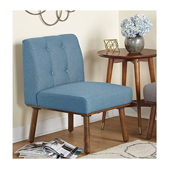 Simple Living Playmate Armless Accent Chair, Blue -  - living-room-furniture, living-room, accent-chairs - 51sNGEu3sYL. SS570  -