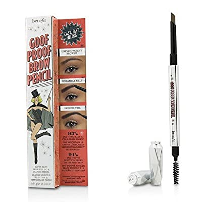 Benefit Cosmetics Goof Proof Brow Pencil Easy Shape & Fill 02 Light - golden to dark blonde (warm) FULL SIZE