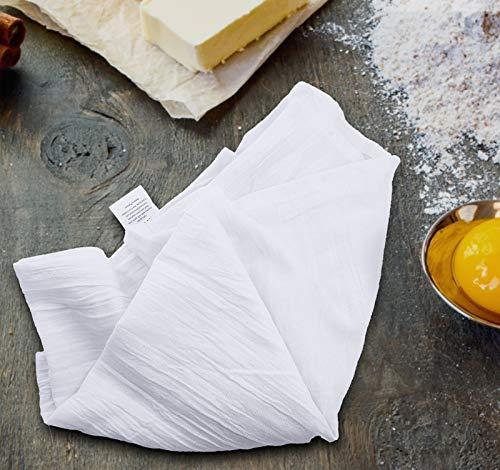Utopia Kitchen Flour Sack Dish Towels, 24 Pack Cotton Kitchen Towels – 28 x 28 Inches