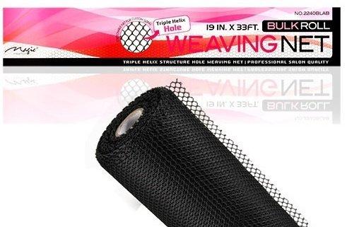 Magic Collection Bulk Roll Weaving Net Black 19