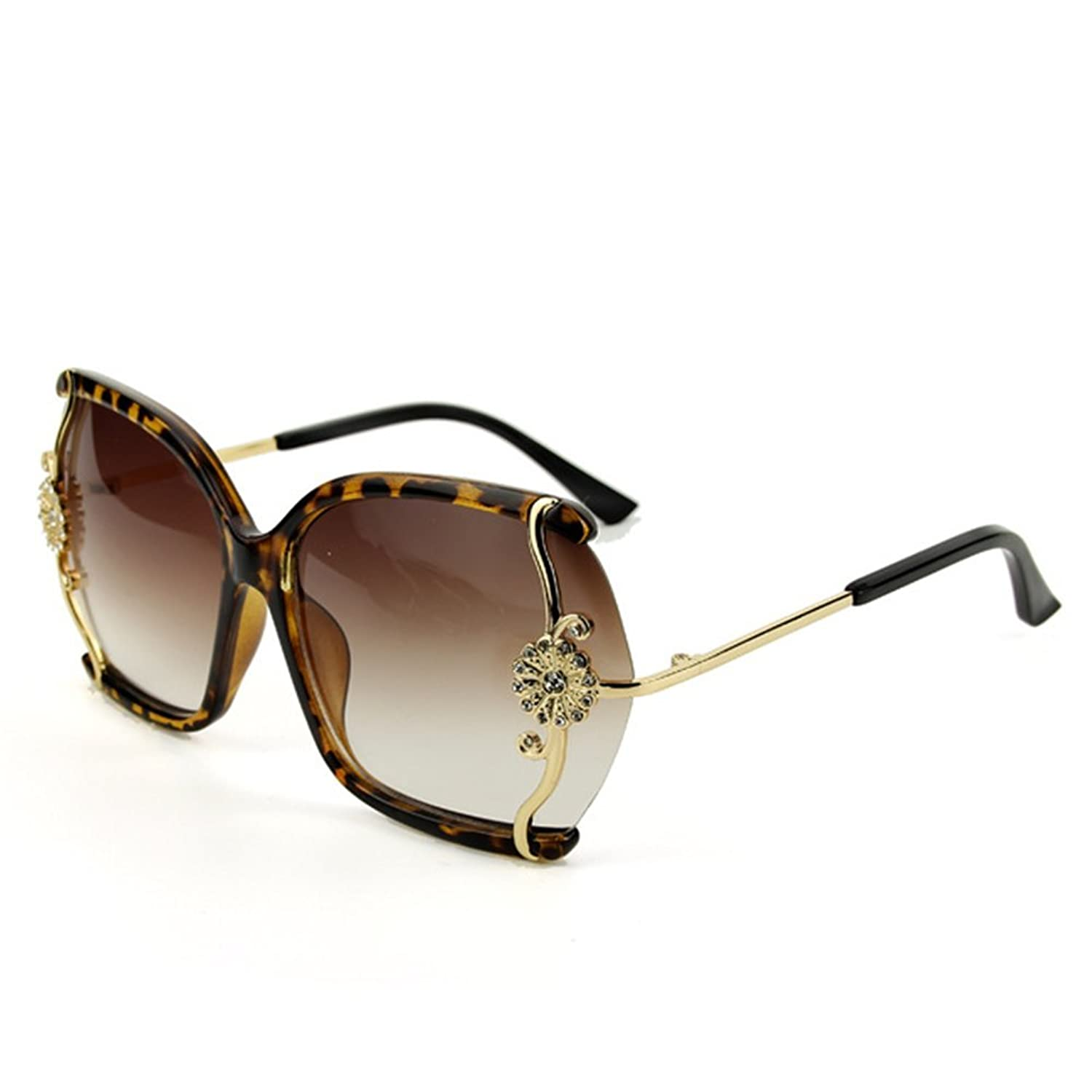 LuxuryLady-3 Sexy Lady Flower Necessary in Summer Fashion Driving Travel Sunglasses