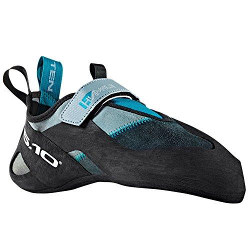 Five Ten Hiangle Men's Climbing Shoes (Grey/Aqua, 10.5)
