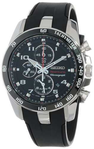 "Seiko Men's SNAE87 ""Sportura Classic"" Stainless Steel Watch"