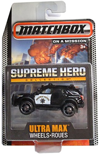 Matchbox On a Mission: Supreme Hero Collection - Highway Patrol Ford Explorer - Ultra Max ()