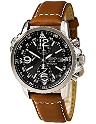 Seiko Mens SSC081 Adventure-Solar Classic Casual Watch