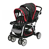Graco Ready2Grow Double Seated Click Connect Baby Infant Tandem Stroller, Marco