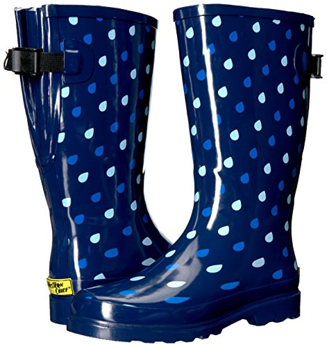 Western Chief Women's Wide Calf Waterproof Rain Boot