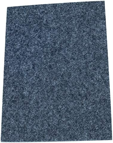 50x50 mm 3.5 mm starke selbs Adsamm®8 x Filzgleiter Braun quadratisch