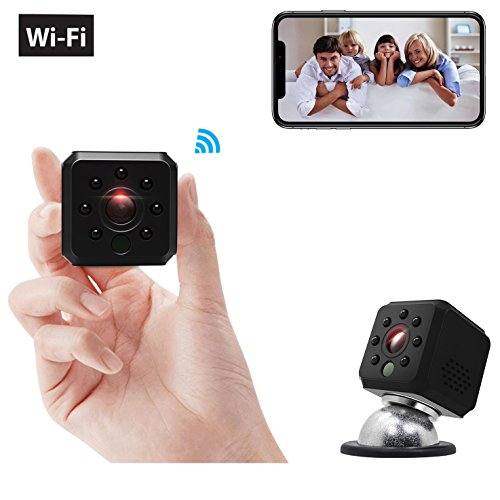 Ehomful Hidden WiFi Mini Camera,Surveillance Portable Small Video Recorder Live Streaming Device 7 Night Vision Motion Activated Spy Nanny Cam with Magnetic Mount Long Lasting Batteries for Home Review