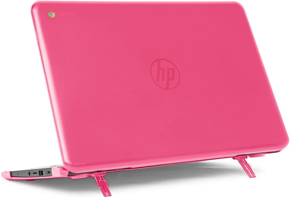"mCover Hard Shell Case for 14"" HP Chromebook 14 G5 / 14-CA / 14-DB Series (NOT Compatible with Older HP C14 G1 / G2 / G3 / G4 Series) laptops (HP C14-G5 Pink)"