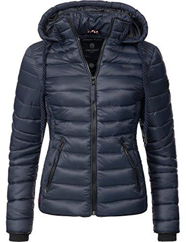Navahoo Ladies?? Between-Seasons Puffer Jacket Lulana 10 Colors XS-XXL Navy