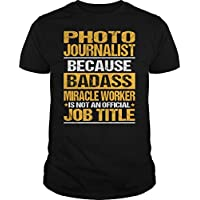 Elestica women's Photo Journalist journey tshirt Black