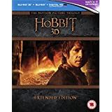 The Hobbit Trilogy - Extended Edition [Blu-ray 3D] [2015] [Region Free][UV Edition Not Available]