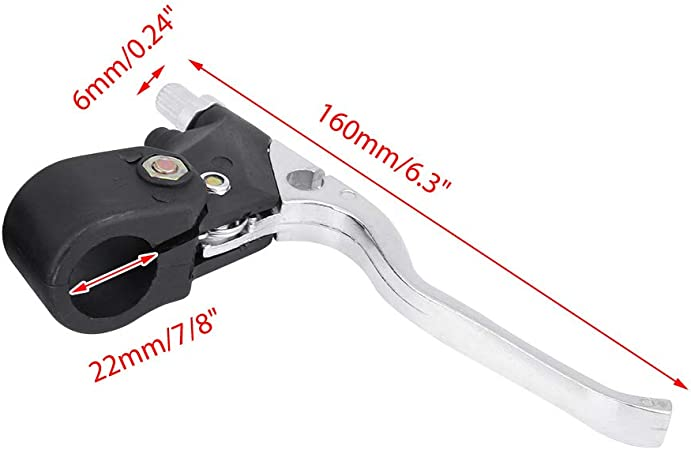 Bremshebel Universal 22mm 7 8in Lenker Bremshebel Für 47cc 49cc Mini Pocket Dirt Bike Atv Auto