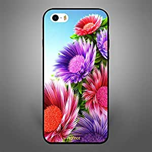 iPhone SE Colorful Flowers