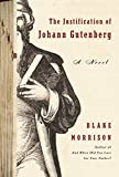 img - for The Justification of Johann Gutenberg: A Novel book / textbook / text book