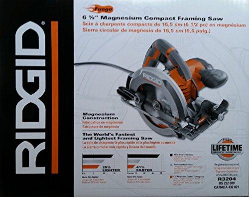 RIDGID Fuego 12-Amp 6-1/2 in. Magnesium Compact Framing Circular Saw