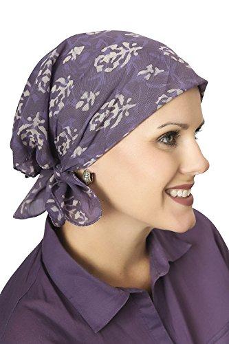 (Cotton Bandanas | Large Bandana in Prints, Tie Dye and Batik Tie Dye - Ivy Vine)