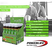 Powerlife L-Karnitin 20 * 25 Ml Ampül 3000 Mg Şeftali Aromalı