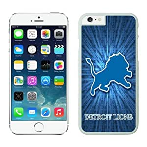 NFL Detroit Lions iPhone 6 Cases 19 White 4.7 Inches NFLIphoneCases12625 by kobestar
