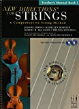 img - for New Directions for Strings Teacher's Manual Book 1 book / textbook / text book
