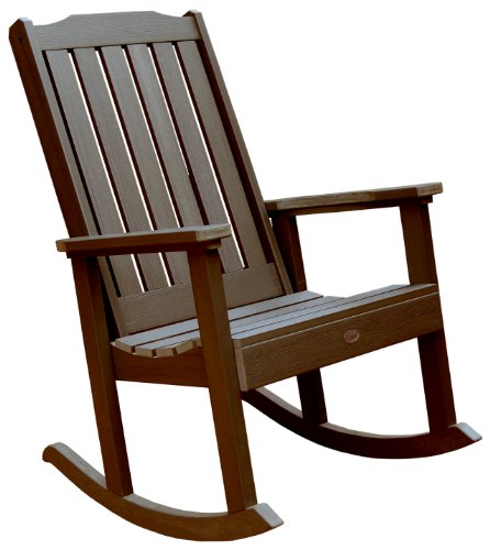 Highwood Lehigh Rocking Chair, Weathered Acorn (Outdoor Commercial Furniture Manufacturers)