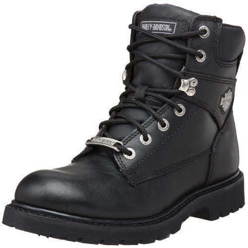 Mens Black Riding Boots - 4