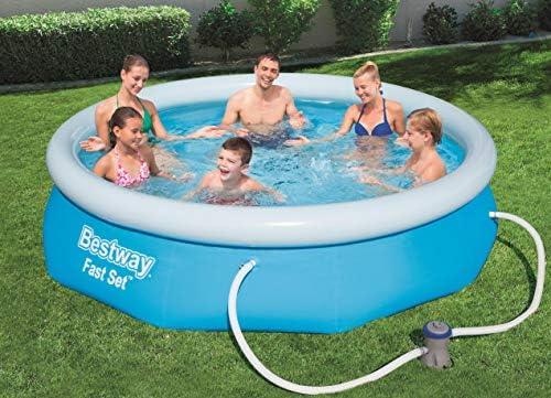 Bestway 57272 Fast Set Pool 274 x 76 cm, con Bomba de Filtro ...