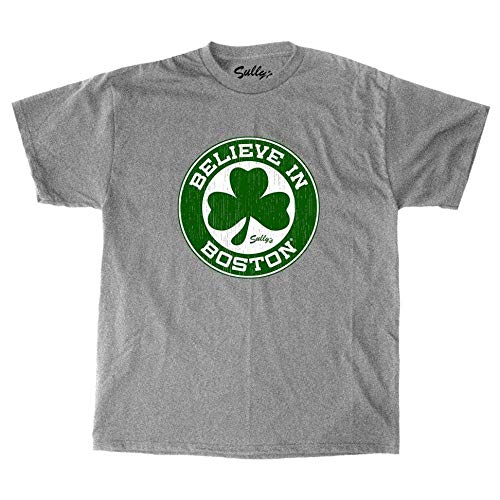 Sully's Brand Believe in Boston - Basketball Shamrock - Youth T-Shirt