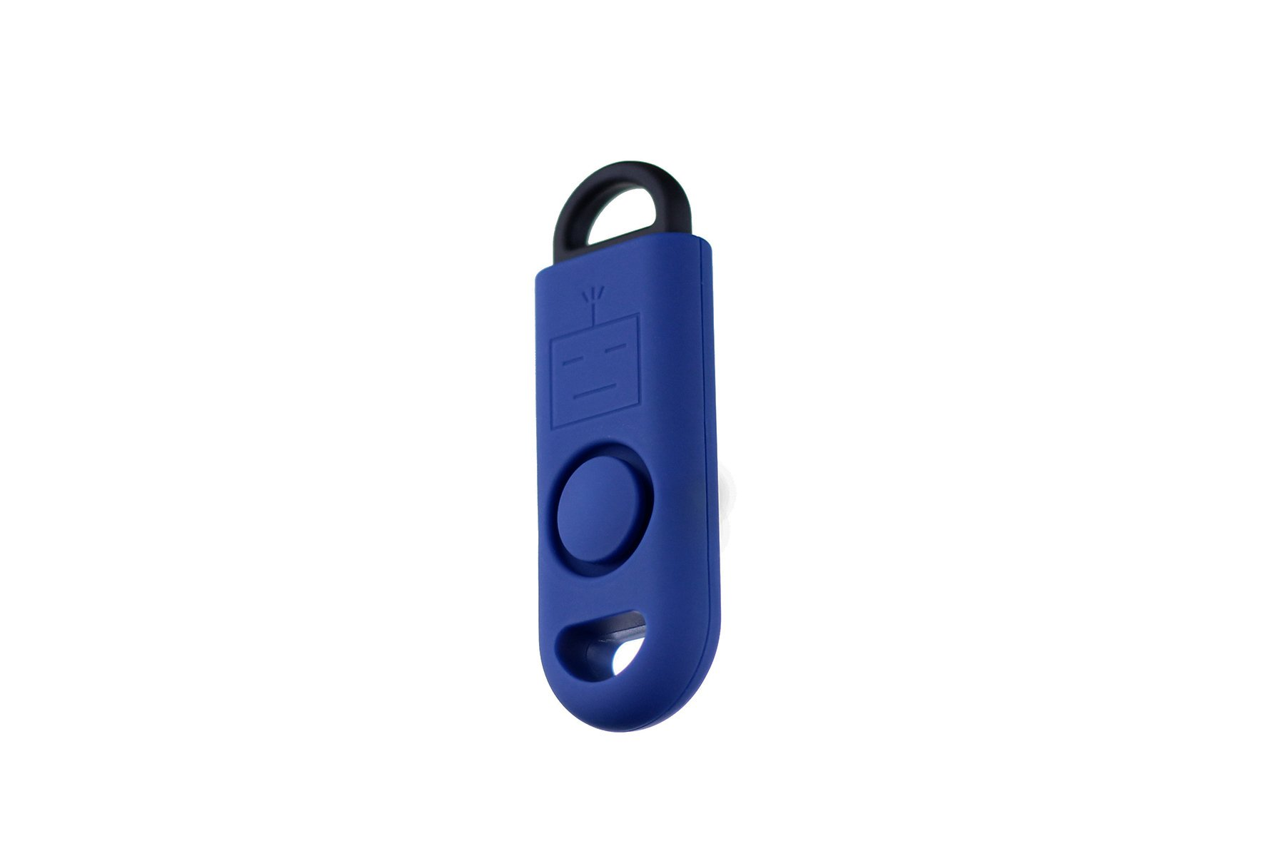 B A S U eAlarm+ with Tripwire Hook, Emergency Personal Alarm, Battery Included, Carabiner Included, Navy Blue by B A S U (Image #3)