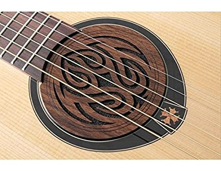 Acoustic Guitar Feedback Buster Fire Soundhole Cover Sound Buffer Hole Protector