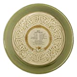 Grasslands Road Celtic 9-Inch Irish Claddagh Soda Bread Dish with Soda Bread Recipe
