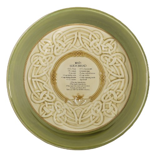 Grasslands Road 461123 Celtic 9-Inch Irish Claddagh Dish