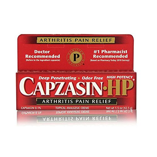 Capzasin-HP Arthritis Pain Relief -  Chattem, 0004116775142