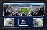 Encore Select 657-40 NCAA Penn State Nittany Lions Custom Framed Sports Memorabilia with Two Mini Helmets Photograph and Name Plate