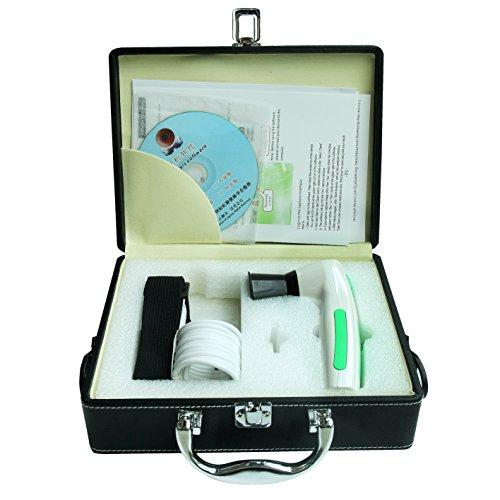 Alta resolución CCD USB iriscope – Software de análisis de diagnóstico Eye cámara con 5.0 MP/lentes de iris 12 MP HD, no necesita Drivers, y metal caja de almacenamiento, 5.0 MP, 52: