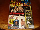 METAL MANIACS MAGAZINE - APRIL 2000 - SYSTEM OF A DOWN / EVE OF DESTRUCTION / METALLICA