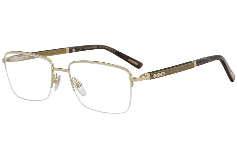 965b1bf825 Eyeglasses Chopard VCHB 75 Gold Wood 300Y at Amazon Men s Clothing store