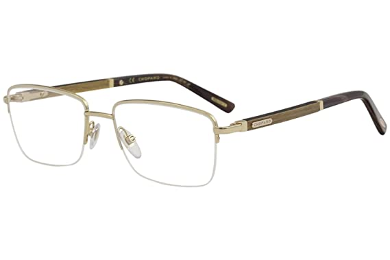 358f7aaccf Image Unavailable. Image not available for. Color  Eyeglasses Chopard VCHB  75 Gold Wood 300Y