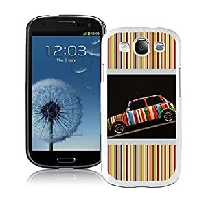 Fashionable And Beautiful Designed Case For Samsung Galaxy S3 I9300 With Paul Smith 15 White Phone Case