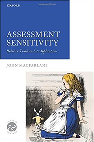 Epub Gratis Assessment Sensitivity: Relative Truth And Its Applications